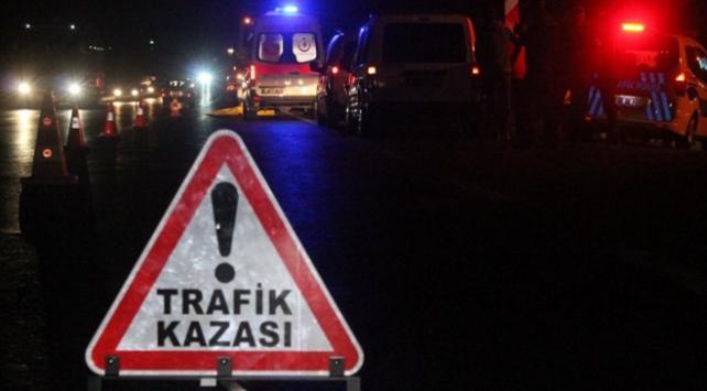Osmaniyede motosiklet devrildi: 1 ölü, 1 yaralı
