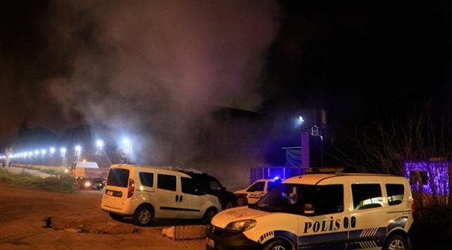Adanada pamuk yağı fabrikasında yangın