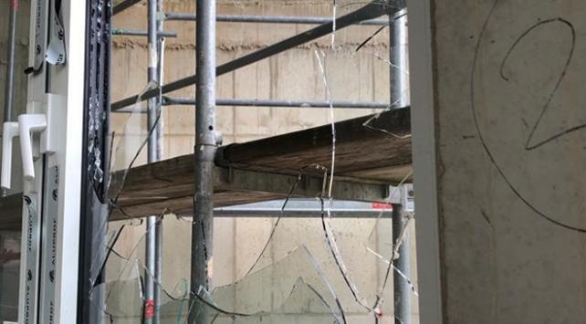 Almanyada yapımı devam eden camiye saldırı
