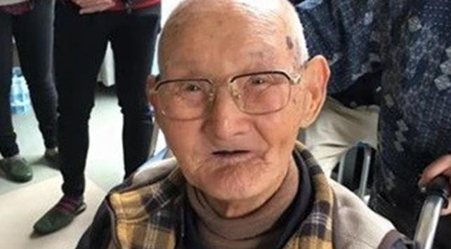 Dünyanın en yaşlı erkeği Guinness Rekorlar Kitabına girdi