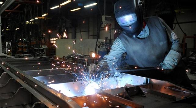 Sanayi üretimi yüzde 8,6 arttı