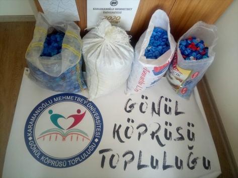 KMÜ öğrencilerinden TOFDnin kampanyasına destek