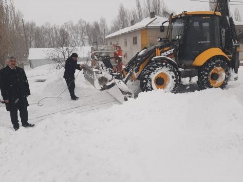 Ulaşta kar mücadele çalışmaları