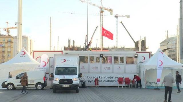 Kan stokları azaldı, Kızılay bağış kampanyası başlattı