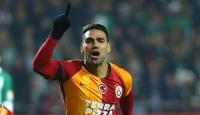 Galatasaray'a Falcao'dan iyi haber