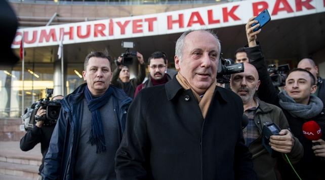 CHP Genel Başkanı Kılıçdaroğlu Muharrem İnce ile görüştü