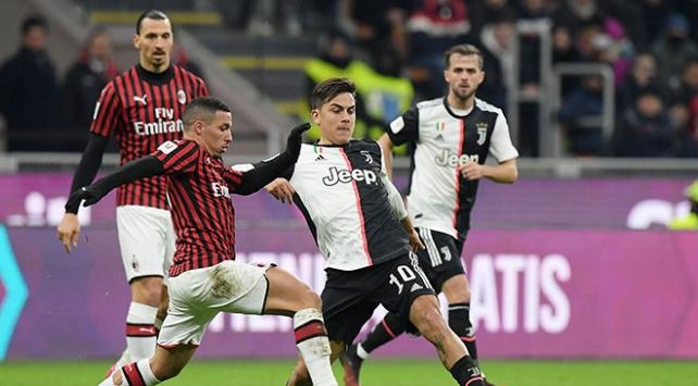 İtalya Kupasında Juventus ve Milan berabere kaldı
