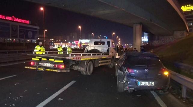 Zeytinburnunda trafik kazası : 1 yaralı