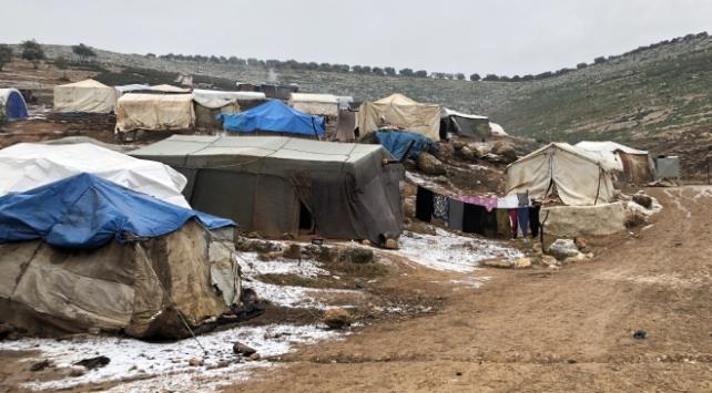 Esed rejiminin evsiz bıraktığı bebek soğuktan öldü