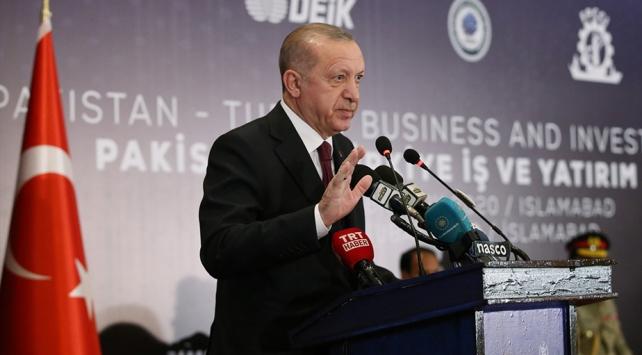 Cumhurbaşkanı Erdoğan: Ülkemize güvenen hiç kimse pişman olmamıştır
