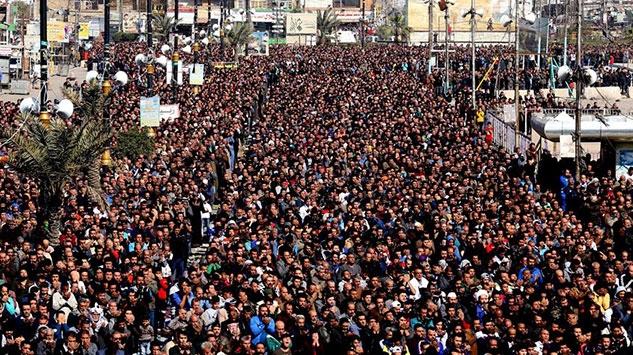 Bağdatta Şii lider Sadr yanlısı kadınlardan gösteri