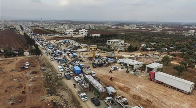 BM: İdlibde son 3 ayda 830 binden fazla kişi yerinden edildi