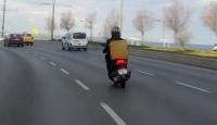Yollardaki tehlikeli meslek: Motokurye
