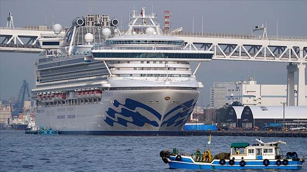 Japonyada karantinadaki gemide 67 kişide daha virüs tespit edildi