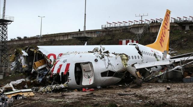 Uçak kazası soruşturmasında kaptan pilotun ifade işlemi ertelendi