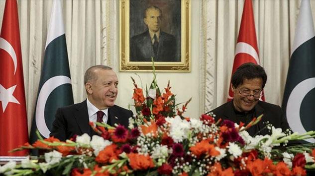 Erdoğanın Pakistan ziyareti ülke basınında geniş yer buldu