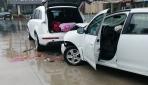 Bagajdan eşya çıkaranlara çarpan sürücü gözaltına alındı