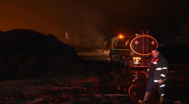 Adanadaki fabrika yangını kontrol altına alındı