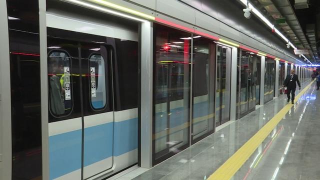 Kabataş-Mahmutbey Metrosu 19 Mayıs'ta ulaşıma açılacak