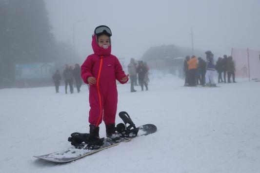 Ilgaz Dağındaki kayak merkezlerinde hafta sonu yoğunluğu