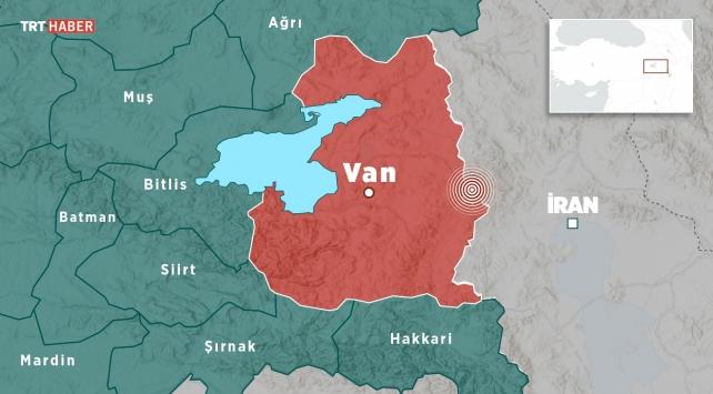 İran sınırında 4,6 büyüklüğünde deprem