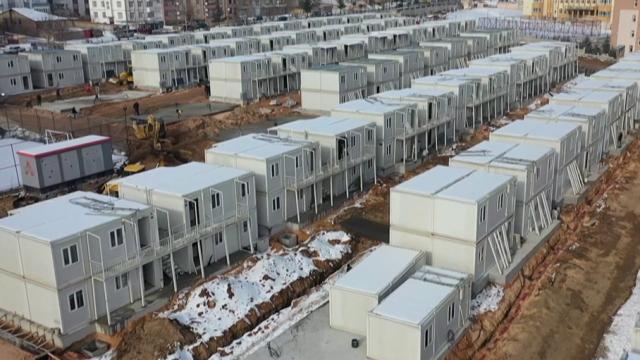 Elazığ'da konteyner kent tamamlanmak üzere
