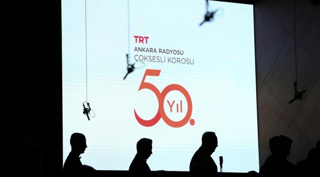 TRT Ankara Radyosu Çoksesli Korosu yarım asrı geride bıraktı