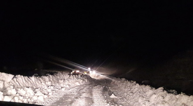 Siirtte kar yağışı 30 köy yolunu ulaşıma kapattı