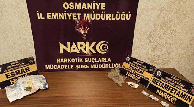 Osmaniyede uyuşturucu operasyonu: 6 gözaltı