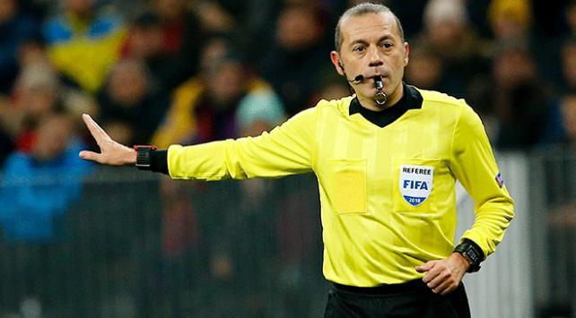 Tottenham-Leipzig maçını Cüneyt Çakır yönetecek