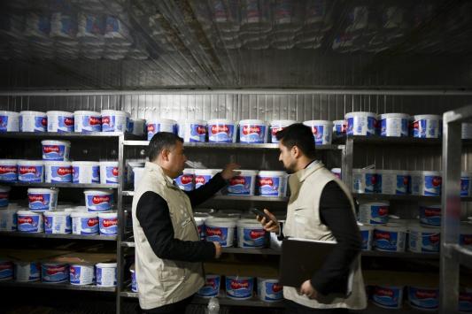 Gaziantep ile Malatyada süt ve süt ürünleri denetimi yapıldı