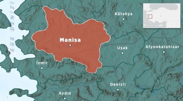 Manisada 3,5 büyüklüğünde deprem