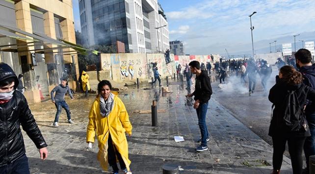Lübnanda gösteriler yeniden başladı
