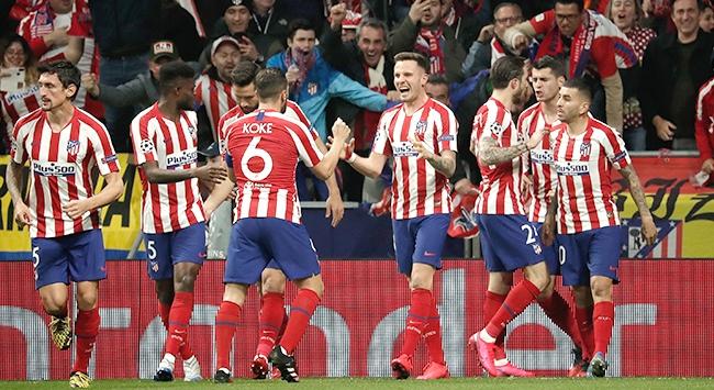 Atletico Madrid Liverpoola geçit vermedi
