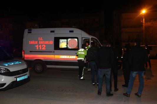 Karamanda otomobille polis aracı çarpıştı: 4 yaralı