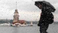 İstanbul yağışlı ve serin havanın etkisine giriyor