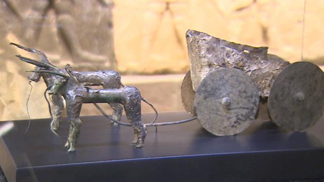 Yurt dışına kaçırılan tarihi eserler Ankara'da sergilenecek