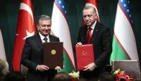 Özbekistan Cumhurbaşkanı Mirziyoyev: Türkiye ve Özbekistan'ın çalışmaları tarihe yepyeni sayfalar olarak yazılacak