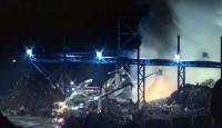 Bartın'da Organize Sanayi Bölgesi'nde yangın