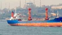 Çanakkale'de kuru yük gemisinde çıkan yangın söndürüldü