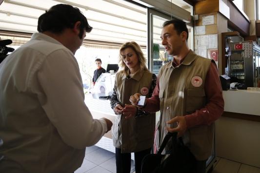 Antalyada işletmelerde gıda denetimi yapıldı