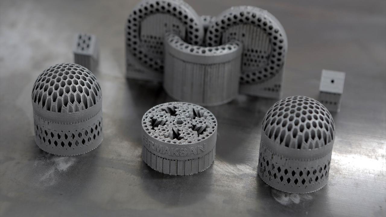 Yerli üretim 3 boyutlu metal yazıcıya Almanlardan tam not
