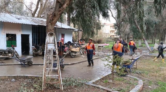 Rasulaynda PKK/YPGnin barakaları kaldırılıyor
