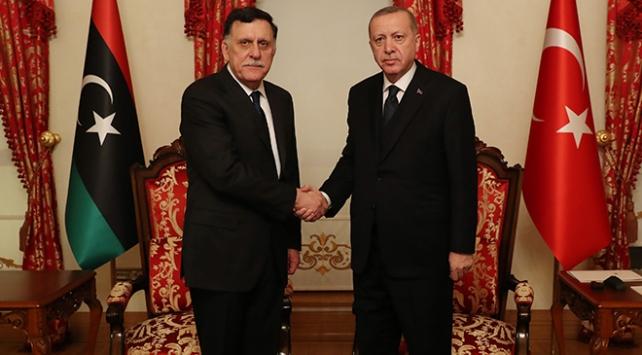 Cumhurbaşkanı Erdoğan, Serracı kabul etti