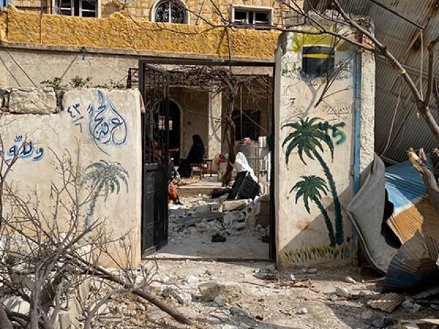 Halepin kırsalında yok olan yaşamlar