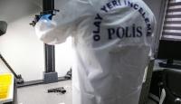 Kadir Şeker'in sırt çantasına kriminal inceleme
