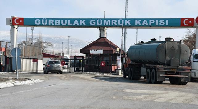 Gürbulak Sınır Kapısında koronavirüs tedbirleri alınmaya başlandı