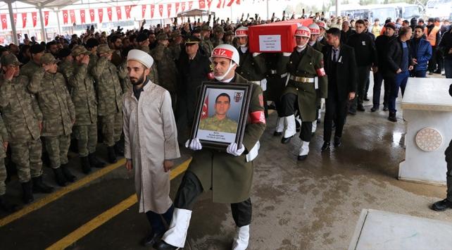 İdlib şehidi Ertürk son yolculuğuna uğurlandı
