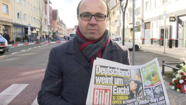 Irkçı saldırı Alman basınında: Almanya size ağlıyor