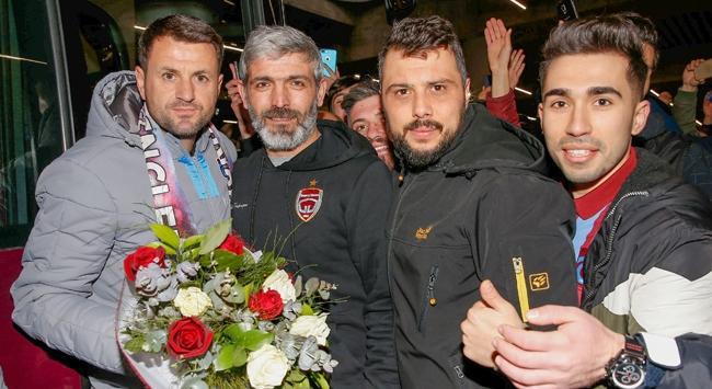 Trabzonspor kafilesi İstanbulda